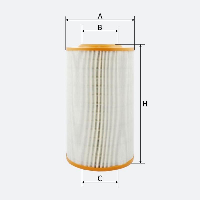 Воздушный фильтр MOLDER аналог WA6487/LX611/C17278 (LF501)