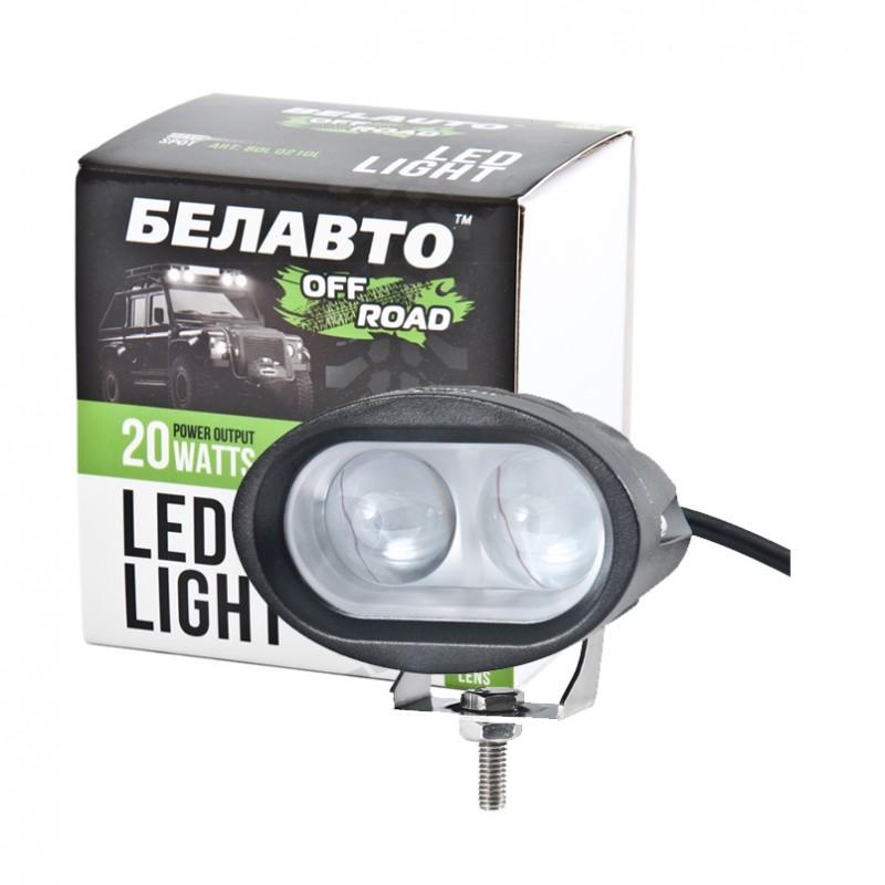 Доп LED фара BELAUTO BOL0210L 1400Лм (точечный)