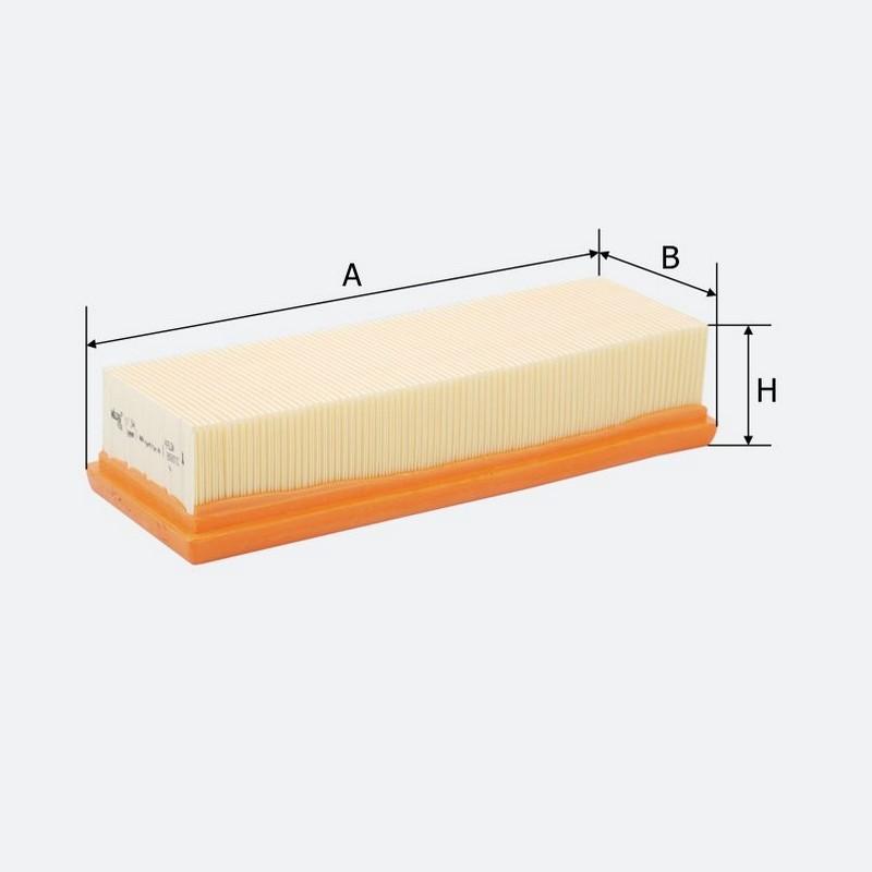 Воздушный фильтр MOLDER аналог WA6204/LX454/C24401 (LF344)