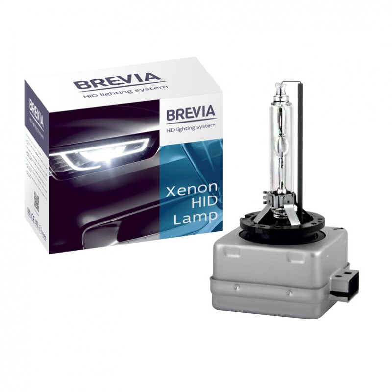 Ксеноновые лампы D1S Brevia 6000K