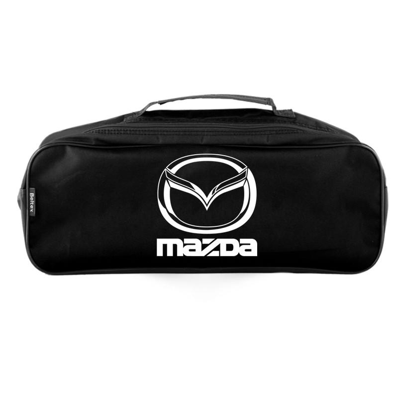 Сумка-органайзер в багажник черная полиэстер BELTEX Mazda (SU9)