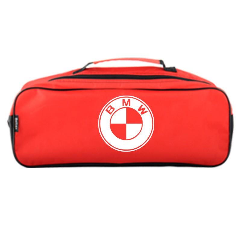 Сумка-органайзер в багажник красная полиэстер BELTEX BMW (SU34)