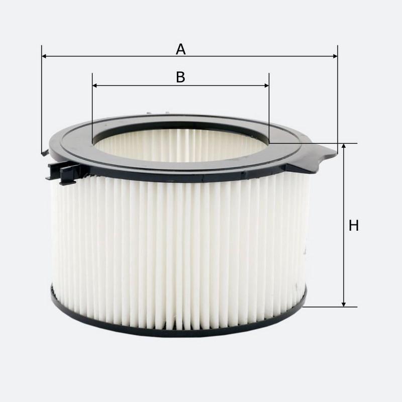 Салонный фильтр MOLDER аналог WP6874/LA65/CU1738 (LK55)