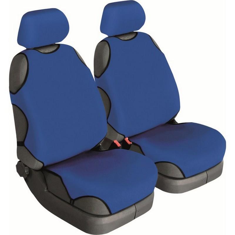 Автомайки универсальные Beltex Cotton 1+1 синие без подголовников 11310
