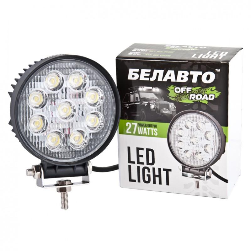 Доп LED фара BELAUTO BOL0903S 1980Лм (точечный)