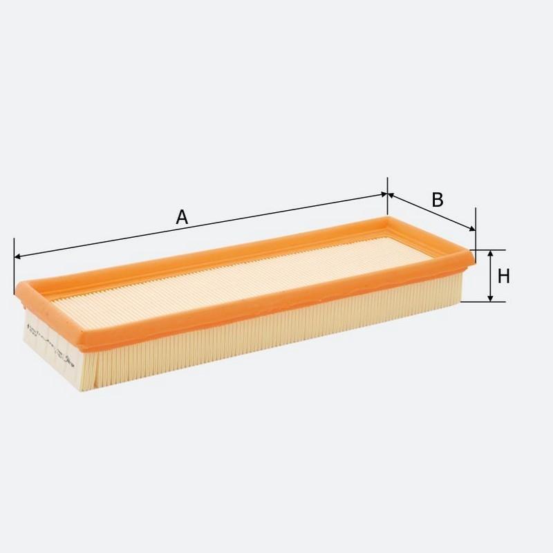 Воздушный фильтр MOLDER аналог WA6684/LX704/1/C32511 (LF594/1)