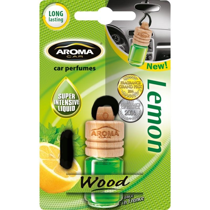 Ароматизатор Aroma Car Wood Lemon Лимон