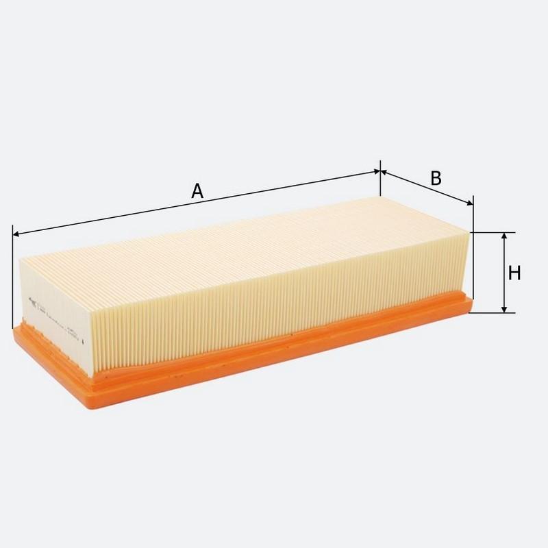 Воздушный фильтр MOLDER аналог WA6781/LX1211/C35154 (LF1101)