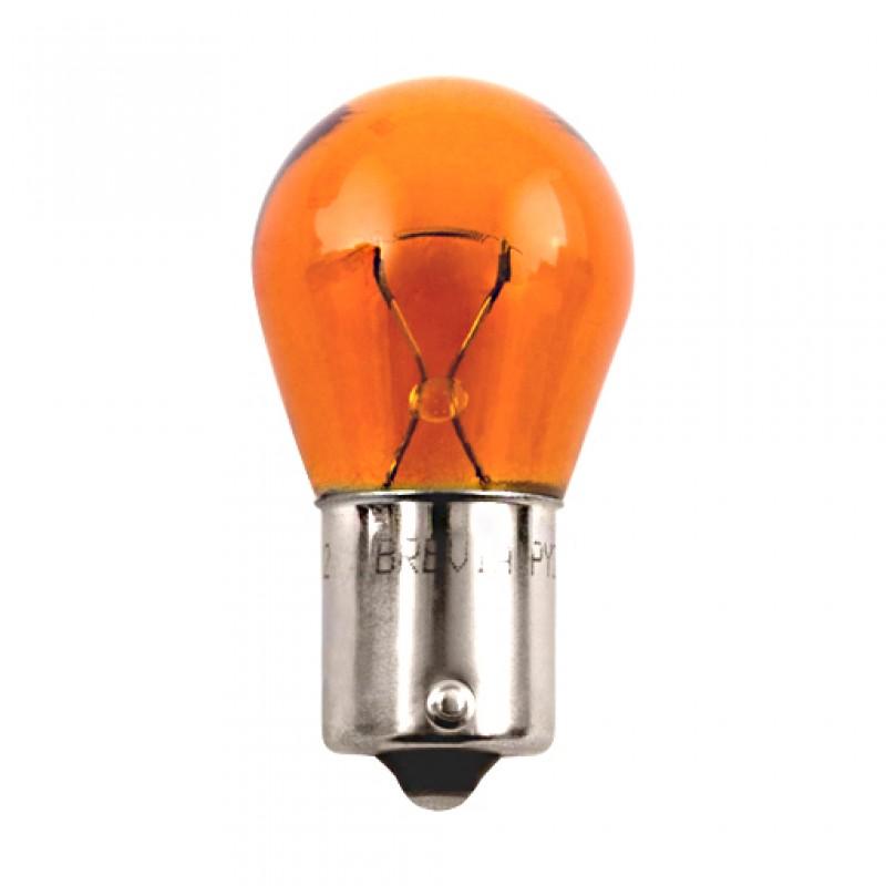 Галогенная лампа BREVIA PY21W AMBER 12V 21W 12302C