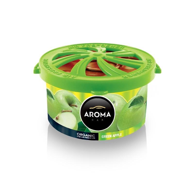Ароматизатор Aroma Car Organic Green Apple Зеленое яблоко