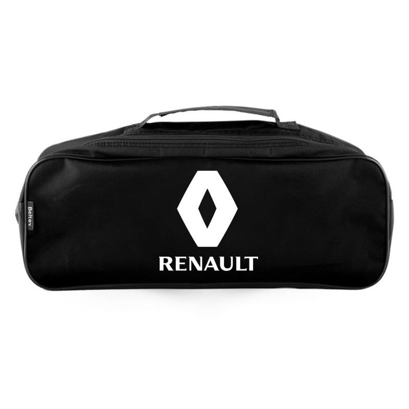 Сумка-органайзер в багажник черная полиэстер BELTEX Renault (SU61)