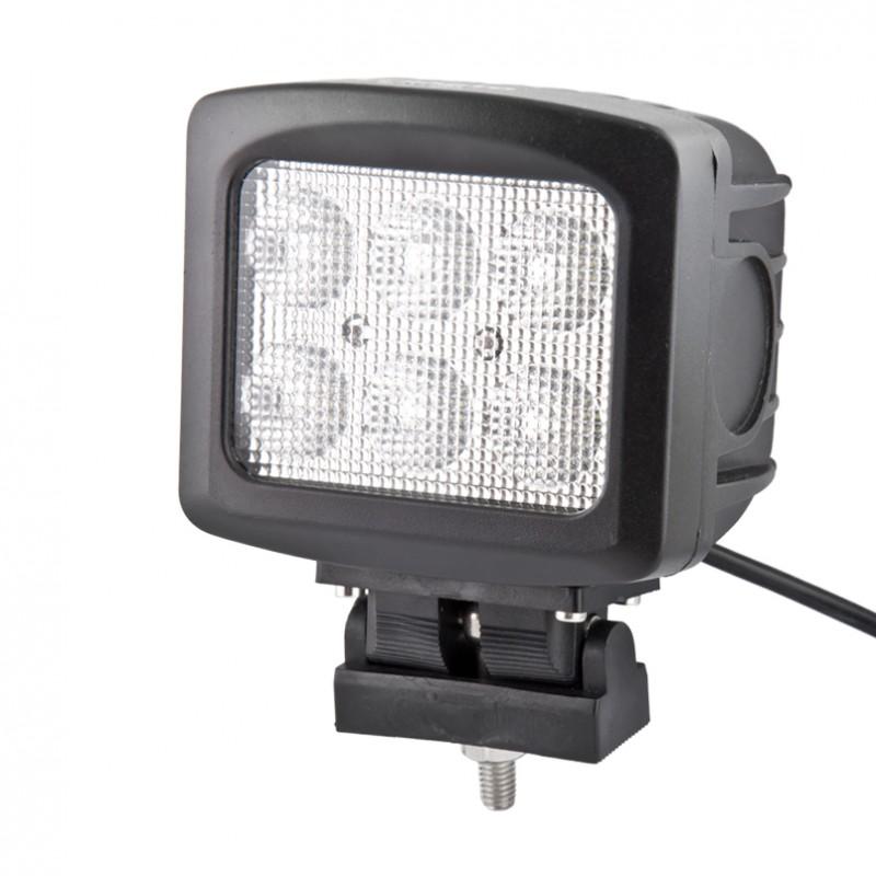 Доп LED фара BELAUTO BOL0610F 6000 Лм (рассеивающий)