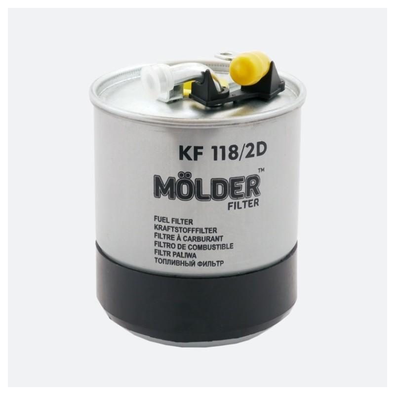 Топливный фильтр MOLDER аналог WF8353/KL228/2D/WK84223X (KF118/2D)