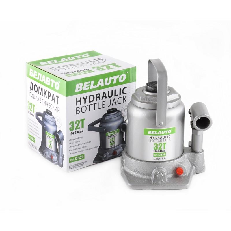 Домкрат бутылочный BELAUTO DB32 32т 194-344мм