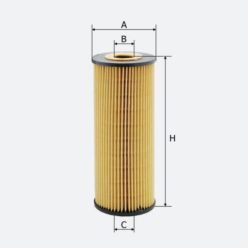 Масляный фильтр MOLDER аналог WL7304/OX133DE/HU7271X (OFX23D)