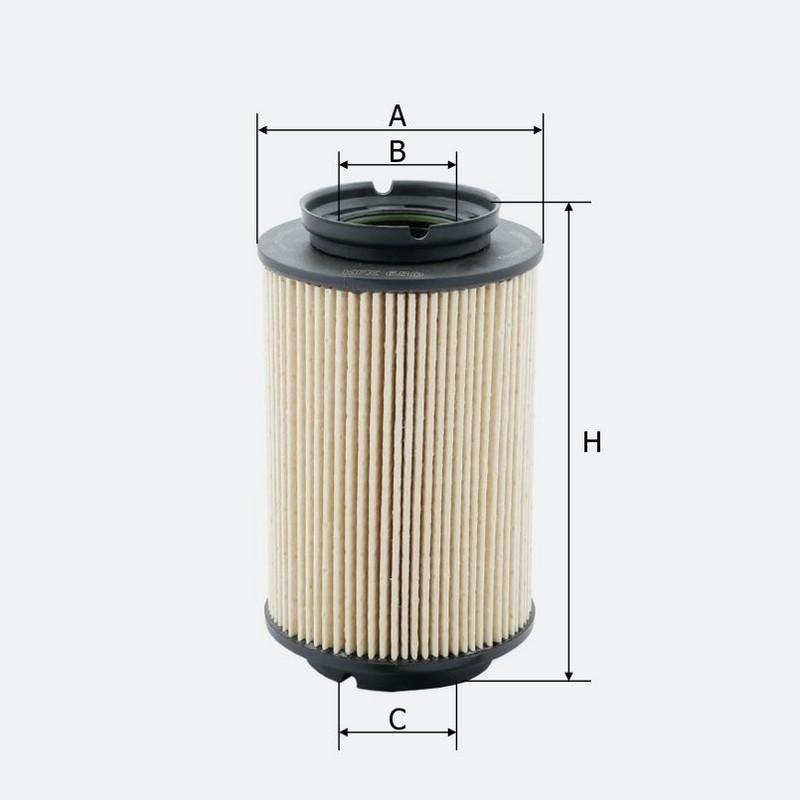 Топливный фильтр MOLDER аналог WF8308/KX178DEco/PU9362X (KFX68D)