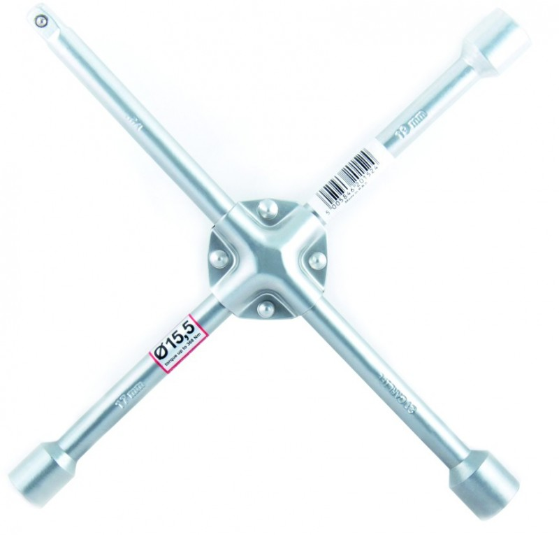 Ключ крестообразный с накладкой(17,19,21,1/2) CarLife