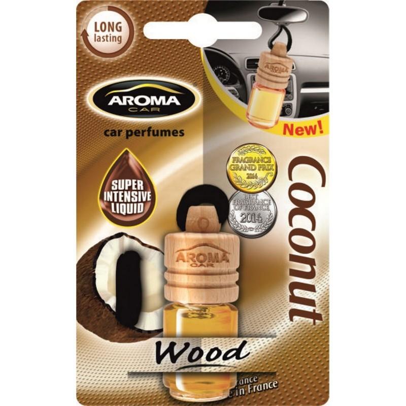 Ароматизатор Aroma Car Wood Coconut Кокос