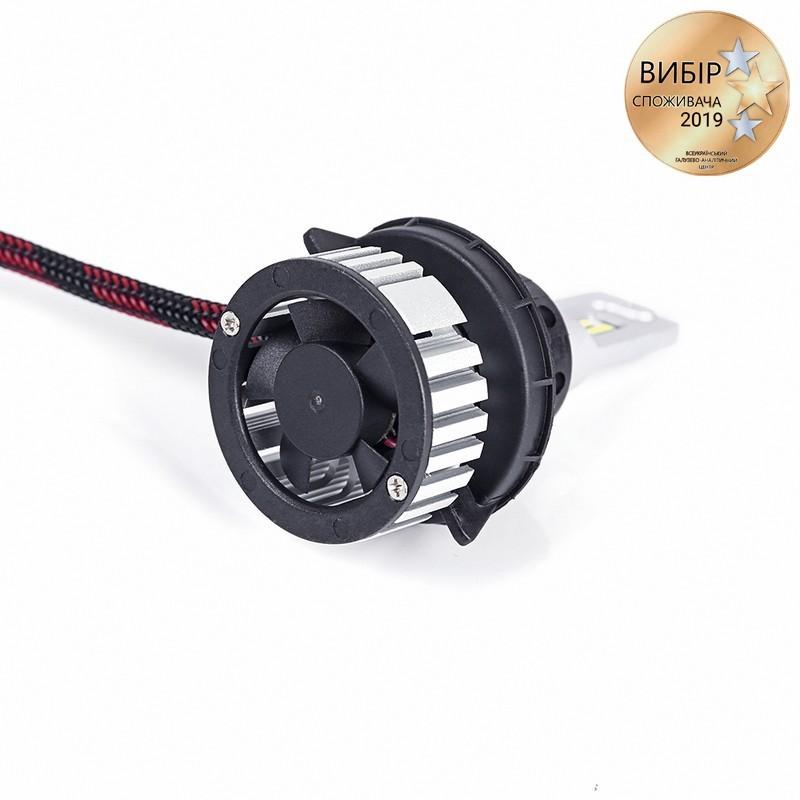 Светодиодные автолампы H13 CARLAMP Ultra Vision Led для авто 5000 Lm 6500 K (UV13)