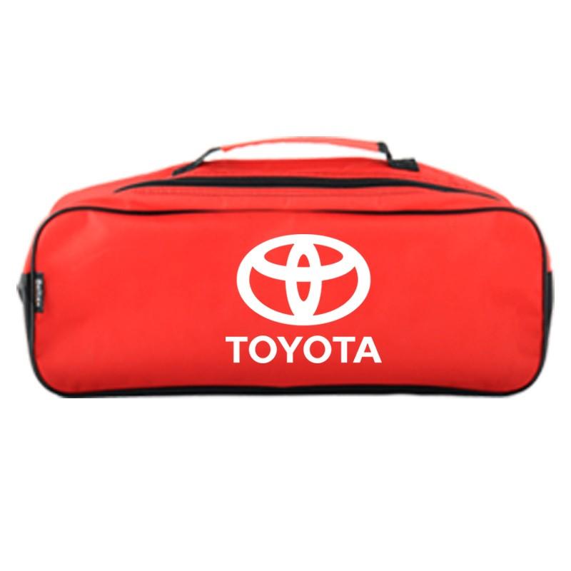 Сумка-органайзер в багажник красная полиэстер BELTEX Toyota (SU52)