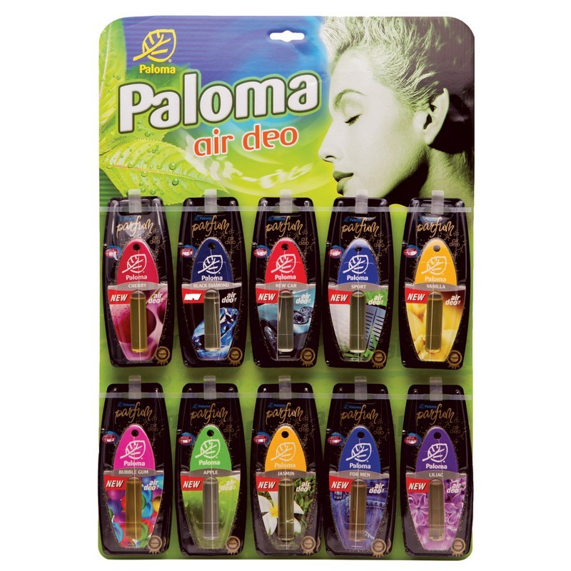 Планшет ароматизаторов Paloma Parfum микс (30 шт)