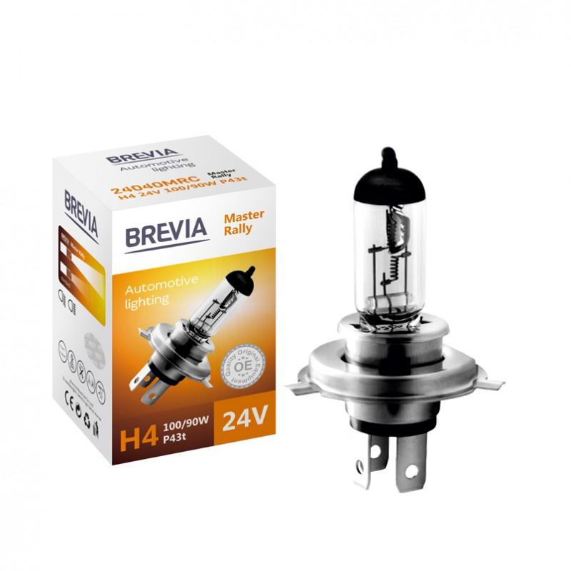 Галогеновая лампаH4 24V 100/90W Master Rally Brevia