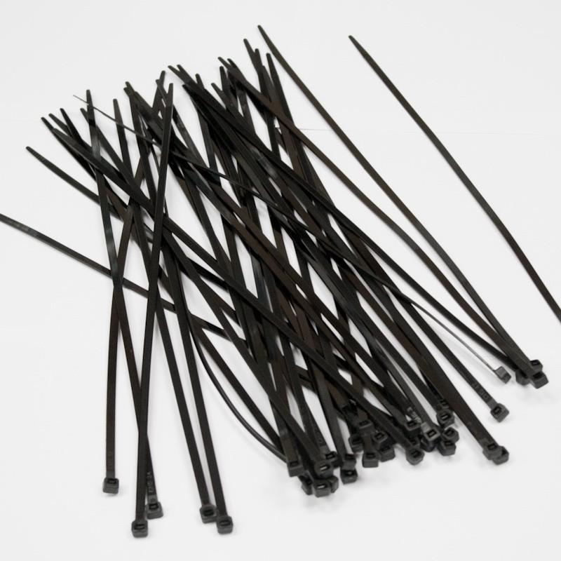 Хомуты пластиковые BELAUTO Черные 7,6x300 мм (B76300)