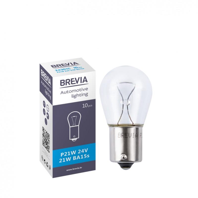 Галогеновая лампа Brevia P21W 24V 21W 24301C