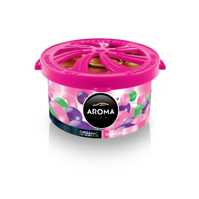 Ароматизатор Aroma Car Organic Bubble Gum Жевательная резинка