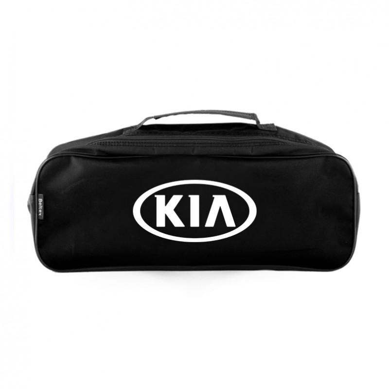 Сумка-органайзер в багажник черная полиэстер BELTEX Kia (SU40)