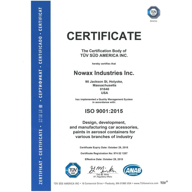 Антифриз NOWAX G11 -40°C зеленый готовая жидкость 5 кг (NX05003)