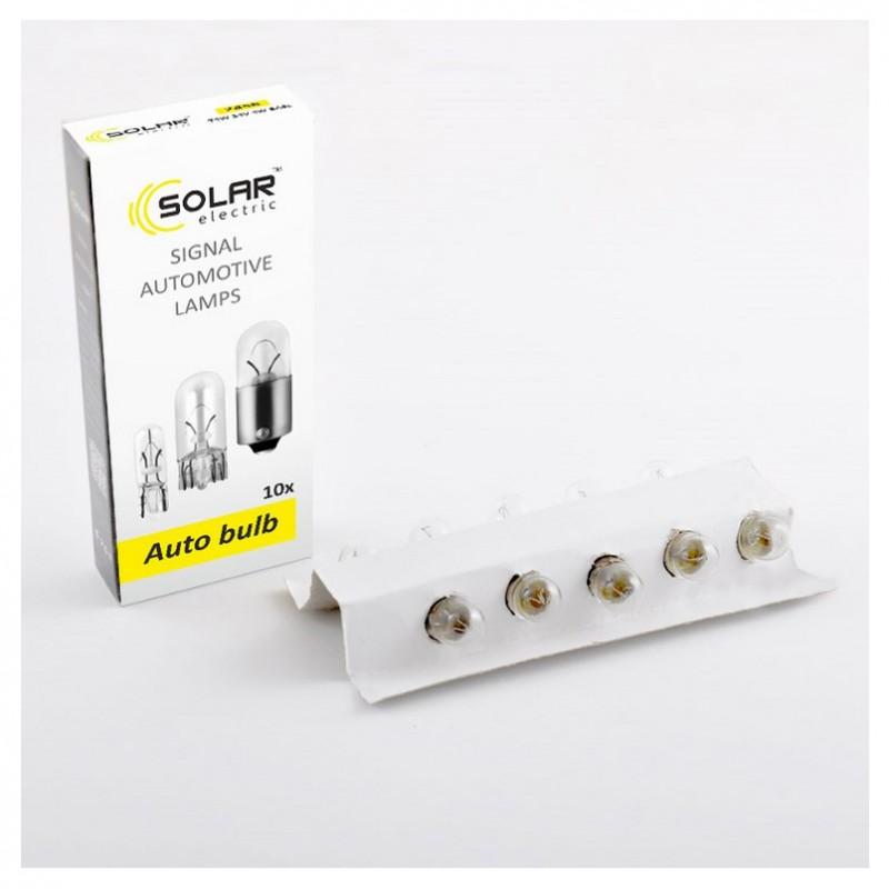Галогеновые лампы Solar R5W  24V 10шт