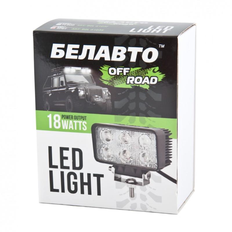 Автолампа светодиодная BELAUTO BOL 0103F (рассеивающий)
