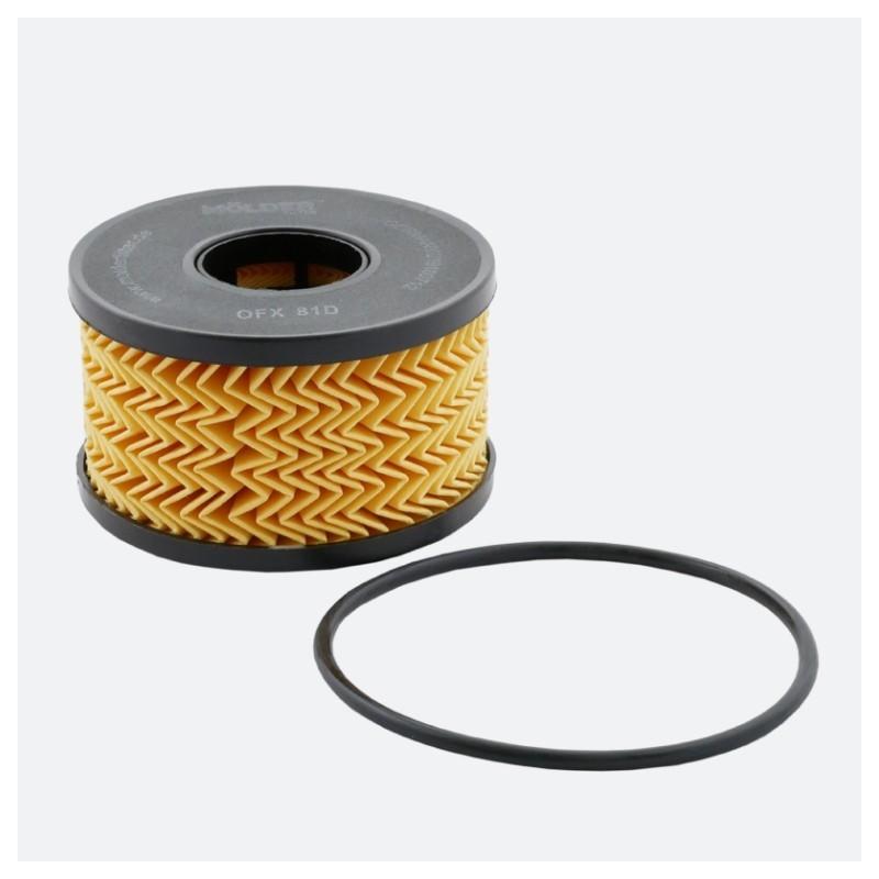 Масляный фильтр MOLDER аналог WL7286/OX191DE/HU920X (OFX81D)