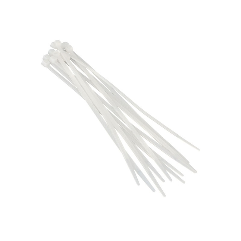 Хомуты пластиковые BELAUTO Белые 3,6x370 мм (W36370)