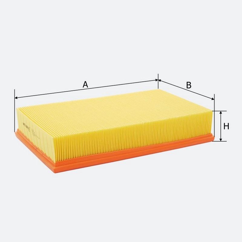 Воздушный фильтр MOLDER аналог WA6167/LX296/C311521 (LF186)