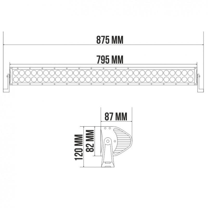 Светодиодная панель LED BELAUTO BOL6003S 16800Лм (точечный)