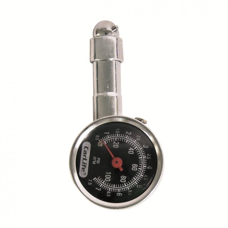Манометр автомобильный CarLife TG571 7,5 атм