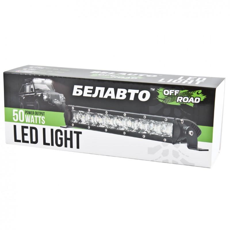 Доп LED фара BELAUTO BOL1005F 4000Лм (рассеивающий)