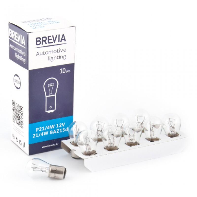 Галогеновая лампа Brevia P21/4W 12V 21/4W 12304C