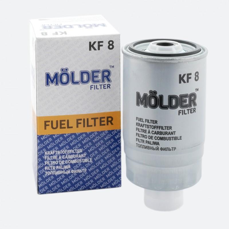 Топливный фильтр MOLDER с прокладкой (KF8)