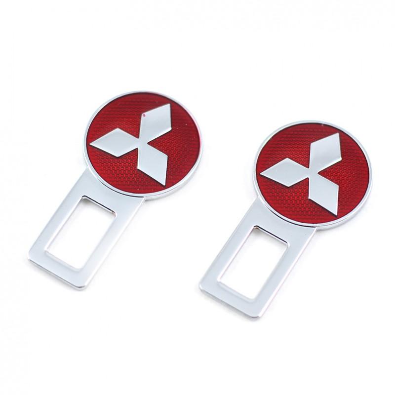 Заглушки Mitsubishi Red металлические STUB09