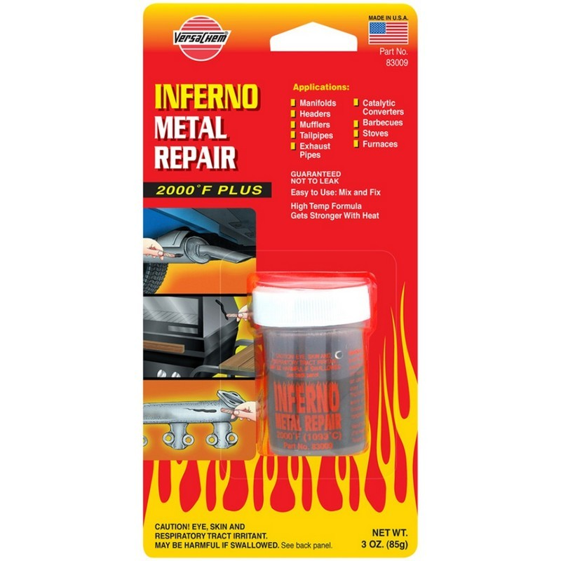 Высокотемпературный герметик Versachem Inferno Metal Repair 85 г (83009)