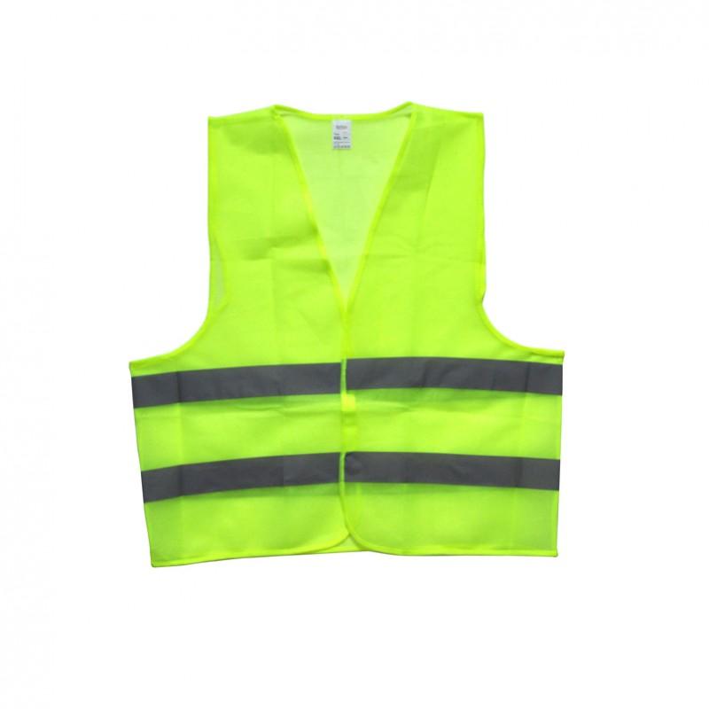 Сигнальный жилет зелёный, XXL, 100 gr/m2