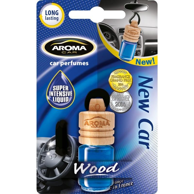 Ароматизатор Aroma Car Wood New Car Новая машина (313/92153)