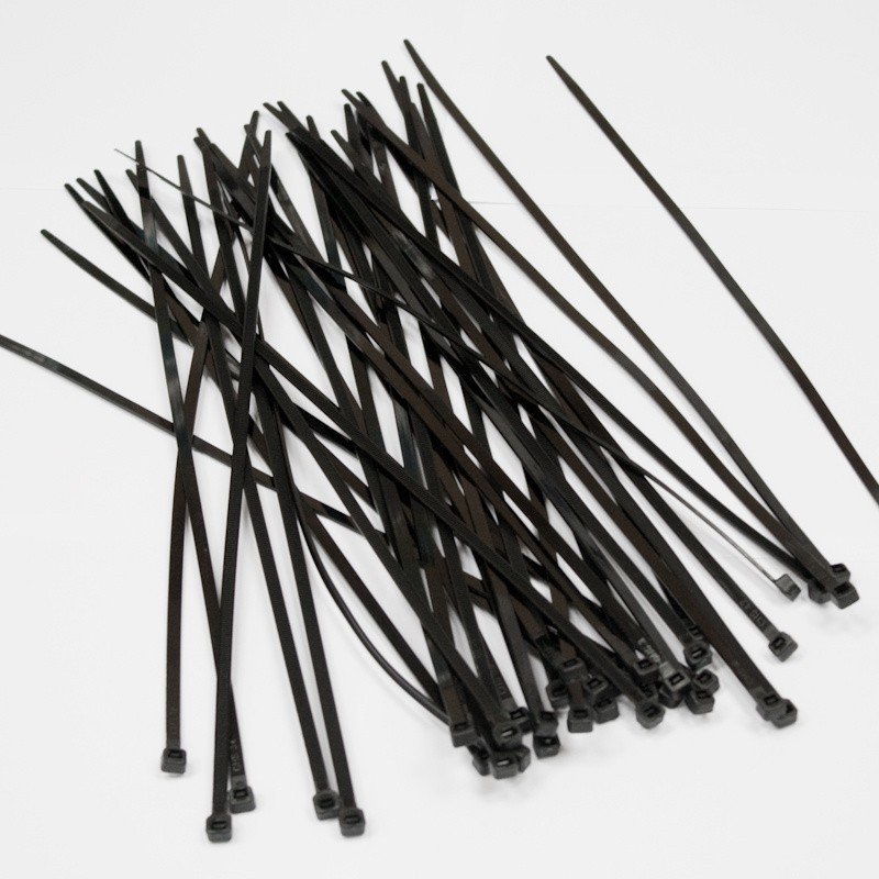 Хомуты пластиковые BELAUTO Черные 2,5x100 мм (B25100)