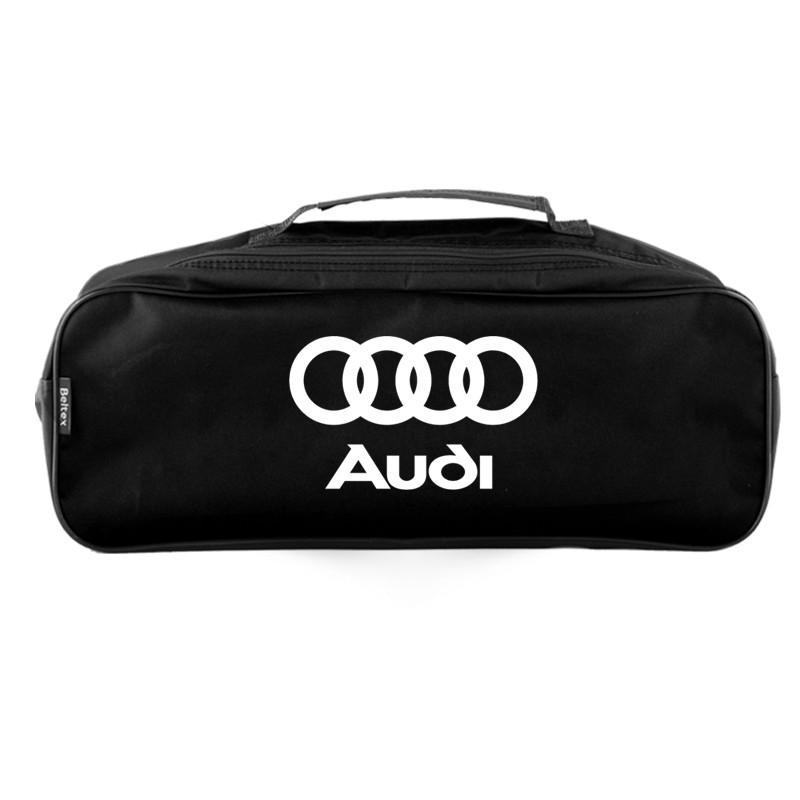 Сумка-органайзер в багажник черная полиэстер BELTEX Audi (SU33)