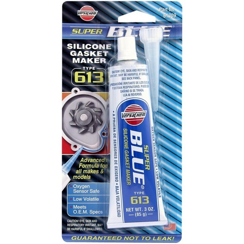 Силиконовый герметик синий Versachem Super Blue Silicone 85 г (61309)