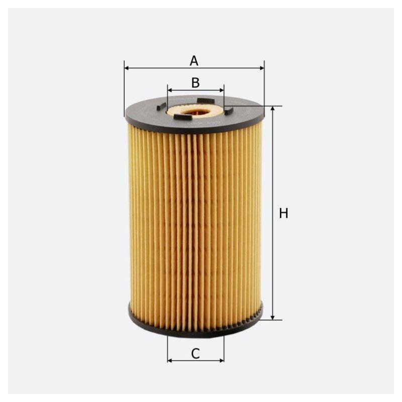 Масляный фильтр MOLDER аналог WL7036/OX150DEco/HU9324X (OFX40D)