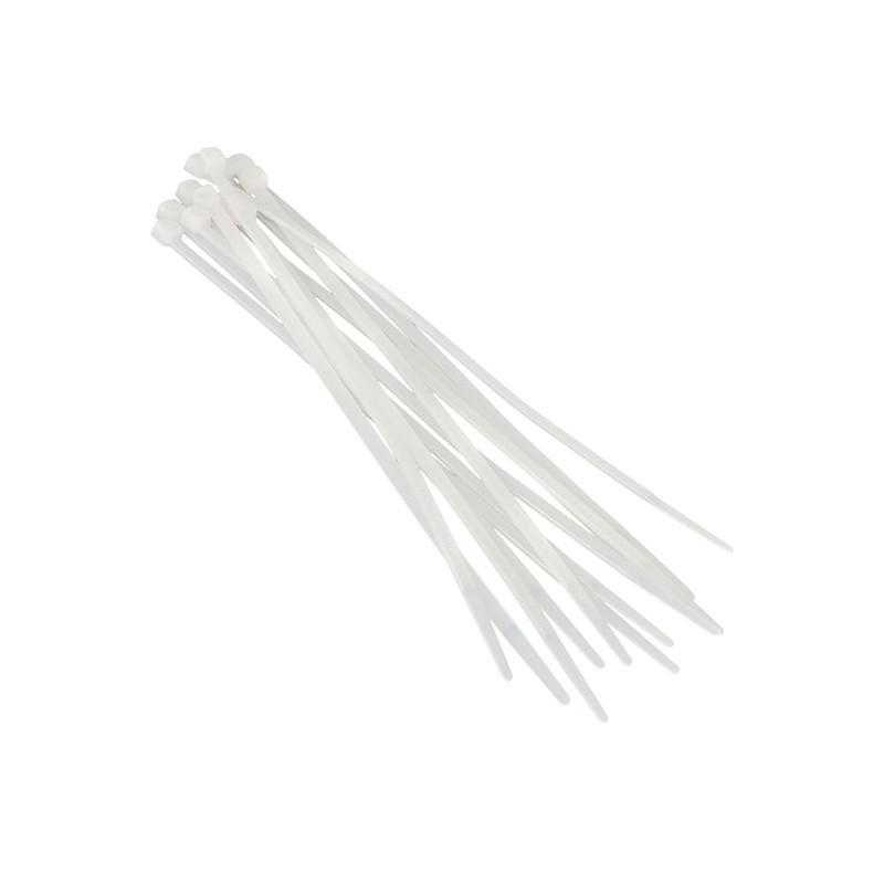 Хомуты пластиковые BELAUTO Белые 3,6x300 мм (W36300)